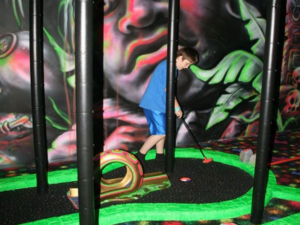 3D Indoor Mini Golf-2, Indoor Playground Equipment, Contained Play