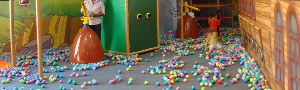 Ballistics, Indoor play equipment, soft play