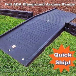 Plastic Borders, ADA Full Mount Ramp