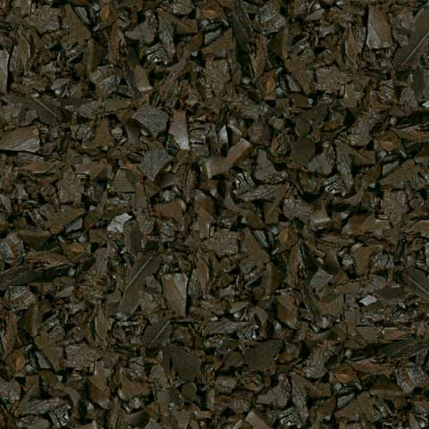 Rubber Mulch, Mocha Brown