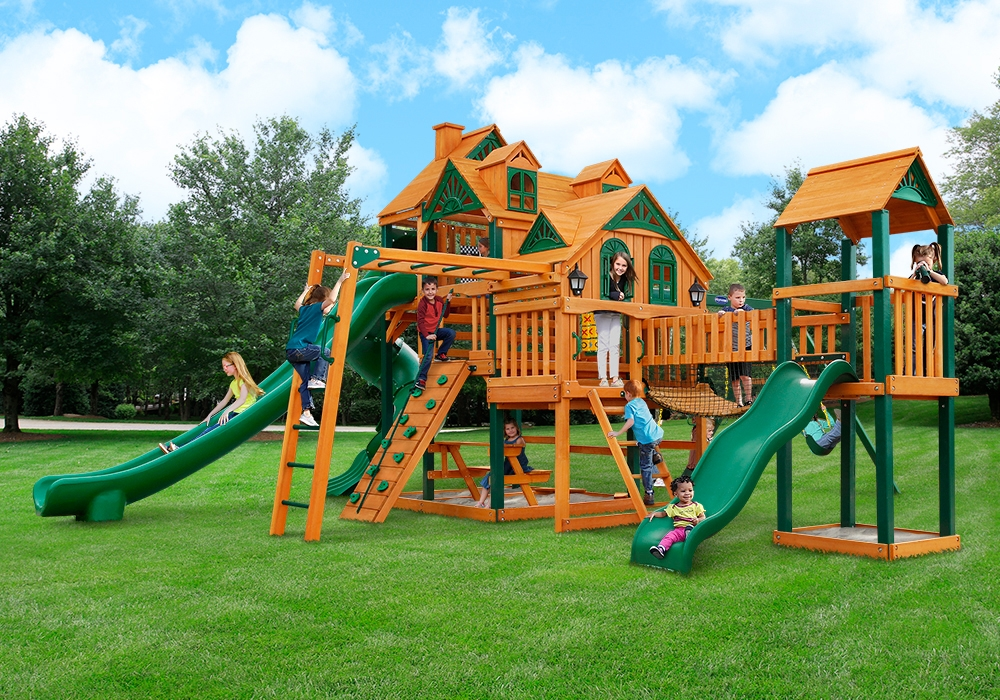residential backyard equipment a ok playgrounds swing. Black Bedroom Furniture Sets. Home Design Ideas