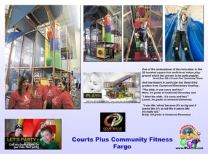 Fitness Center - Recreation Center - Private Club Installations - Courts-Plus