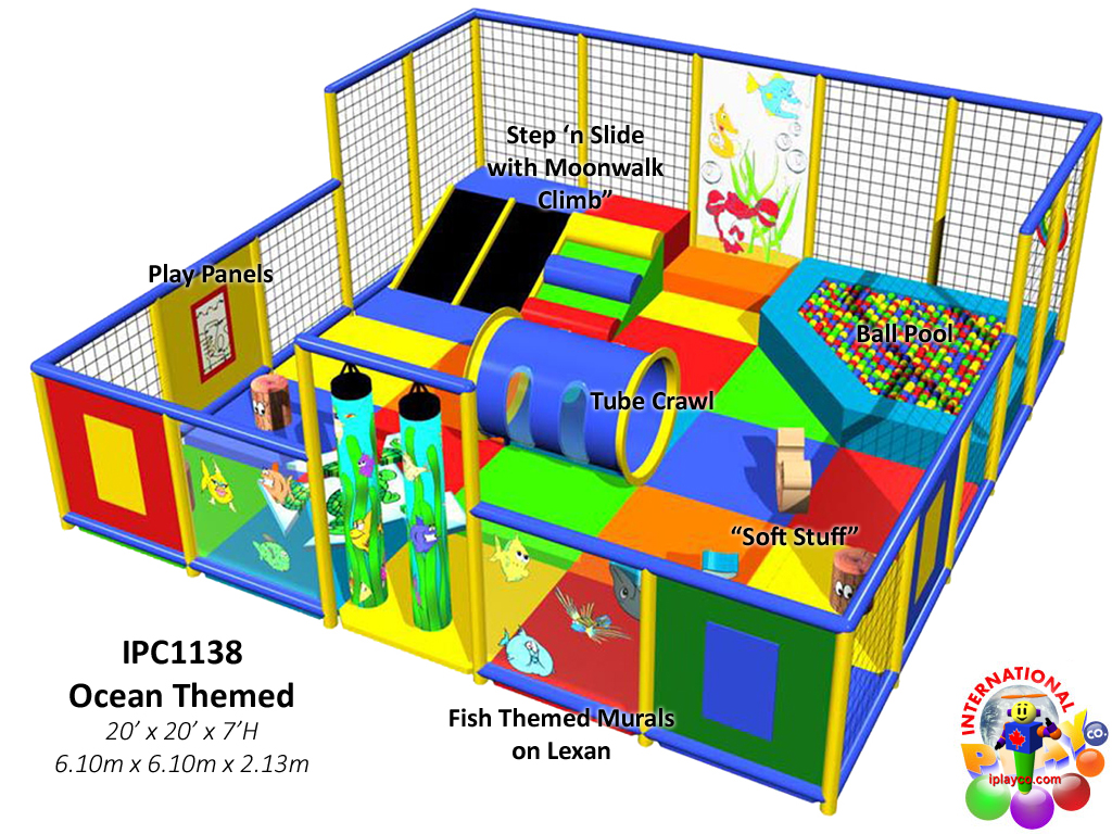 IPC1138, Indoor Playground Equipment, Contained Play Equipment