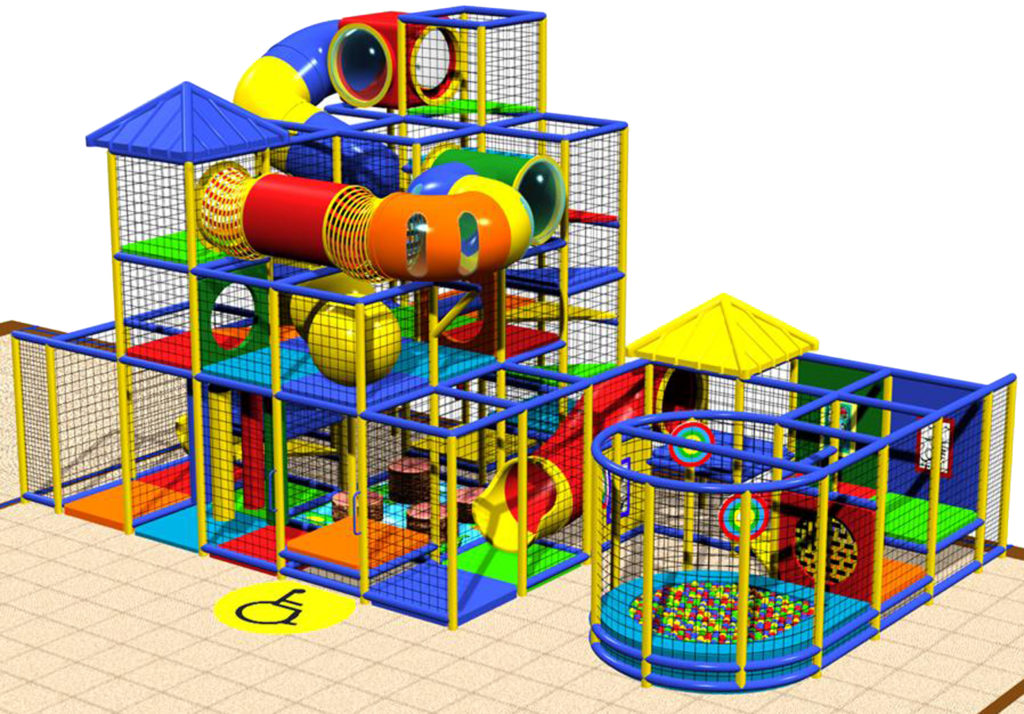 Indoor Playground Equipment, Contained Play