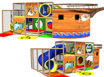 IPC1198, Indoor Playground Equipment, Contained Play Equipment