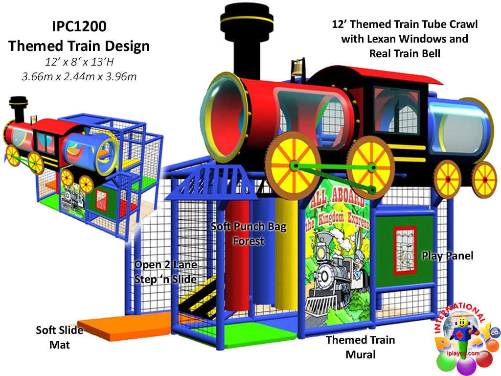 IPC1200, Indoor Playground Equipment, Contained Play Equipment
