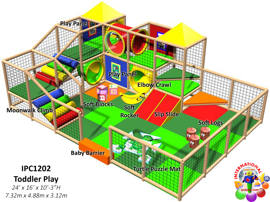 IPC1202, Indoor Playground Equipment, Contained Play Equipment