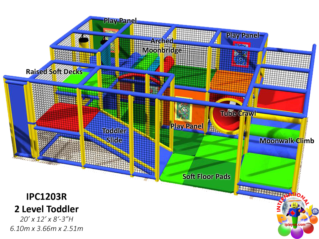 IPC1203R, Indoor Playground Equipment, Contained Play Equipment