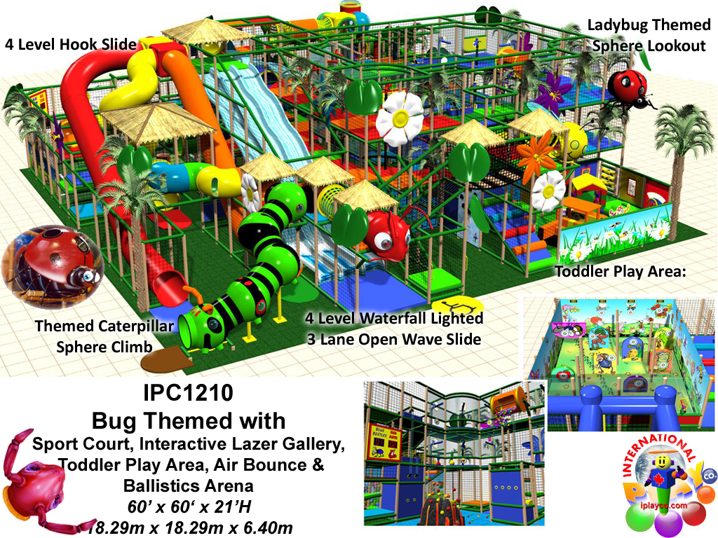 IPC1210, Indoor Play Equipment, FEC, Family Entertainment Center