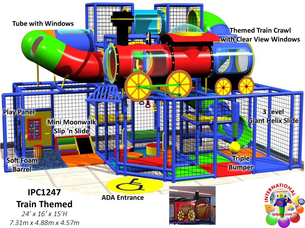 IPC1247, Indoor Playground Equipment, Contained Play EquipmentIndoor Play Equipment, Contained Play Equipment
