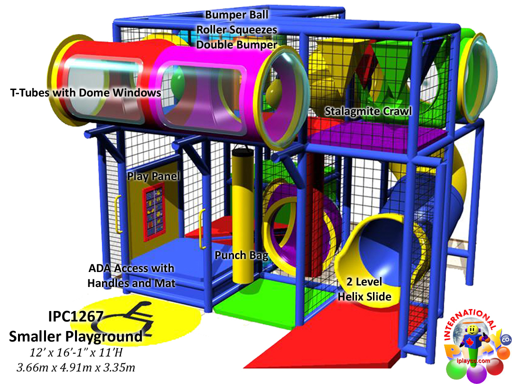 Fitness center playground equipment a ok playgrounds for Indoor playground design ideas