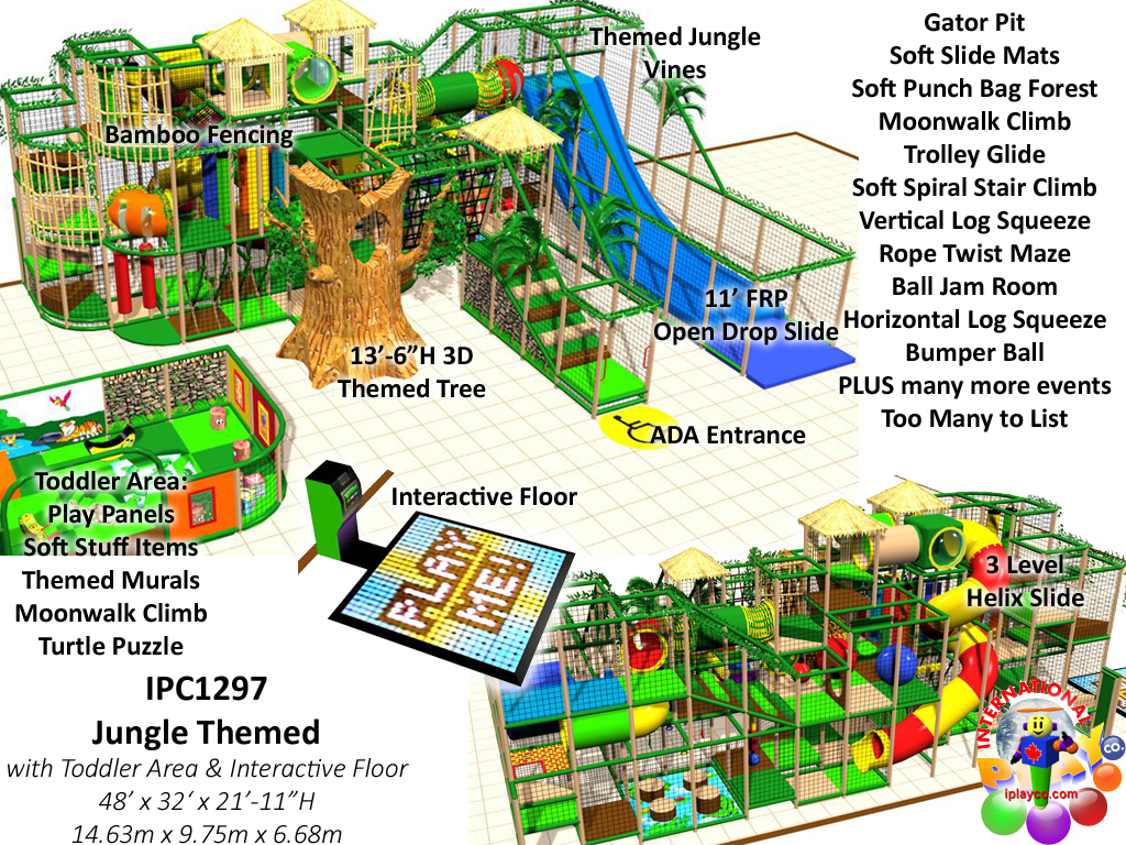 IPC1297, Indoor Playground Equipment, Contained Play Equipment