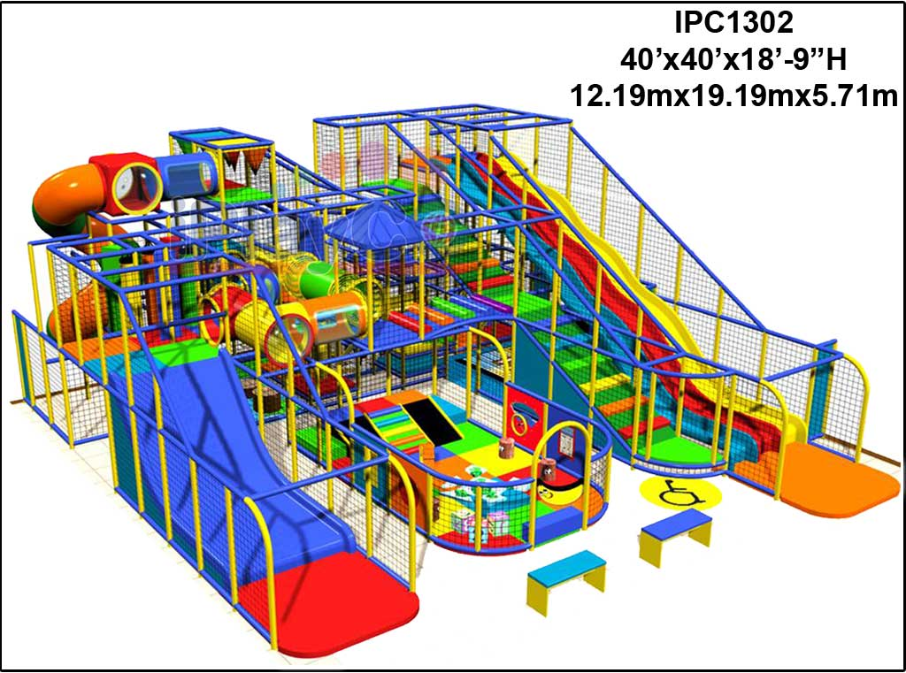 IPC1302, Indoor Play Equipment, FEC, Family Entertainment Center