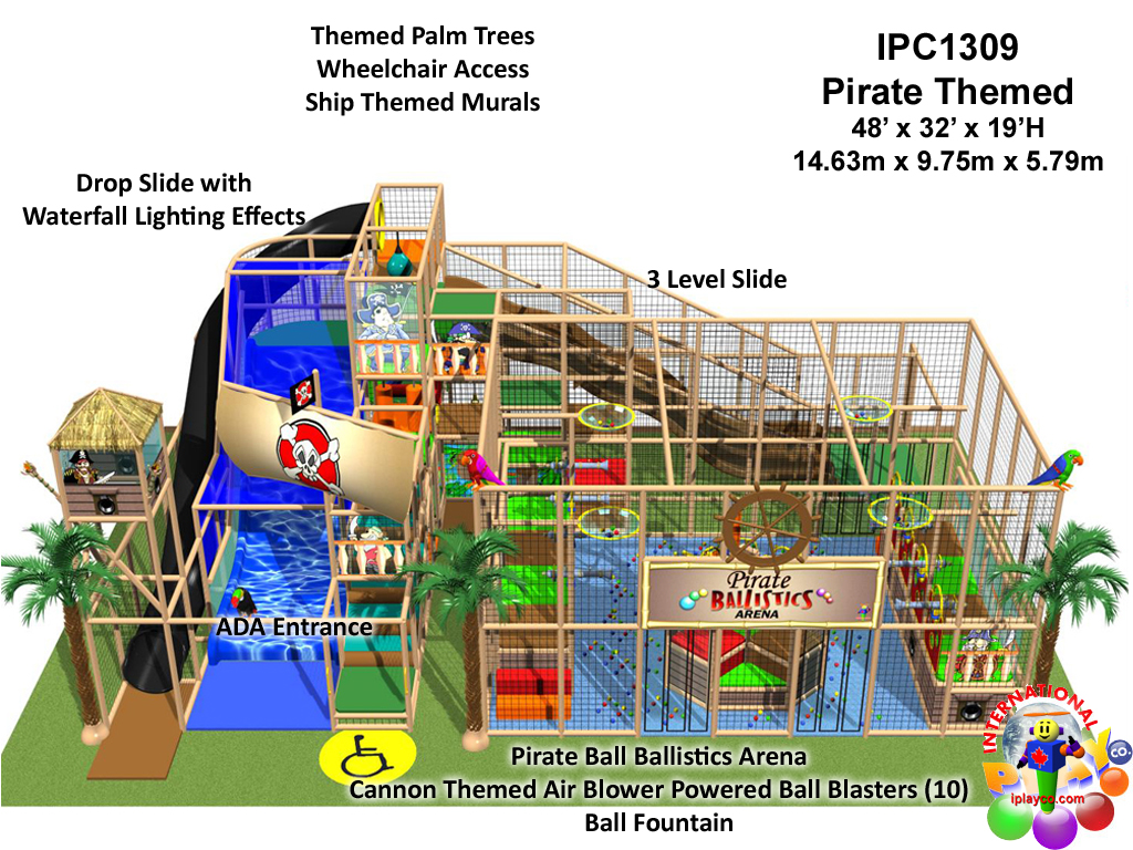 IPC1309, Indoor Playground Equipment, Contained Play Equipment