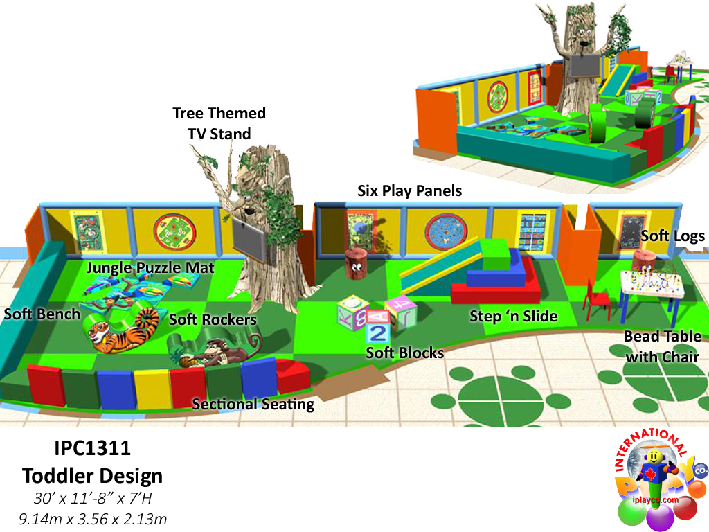 IPC1311, Indoor Playground Equipment, Contained Play Equipment