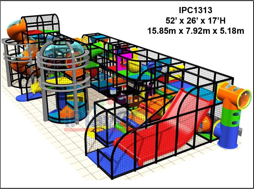 IPC1313, Indoor Play Equipment, FEC, Family Entertainment Center