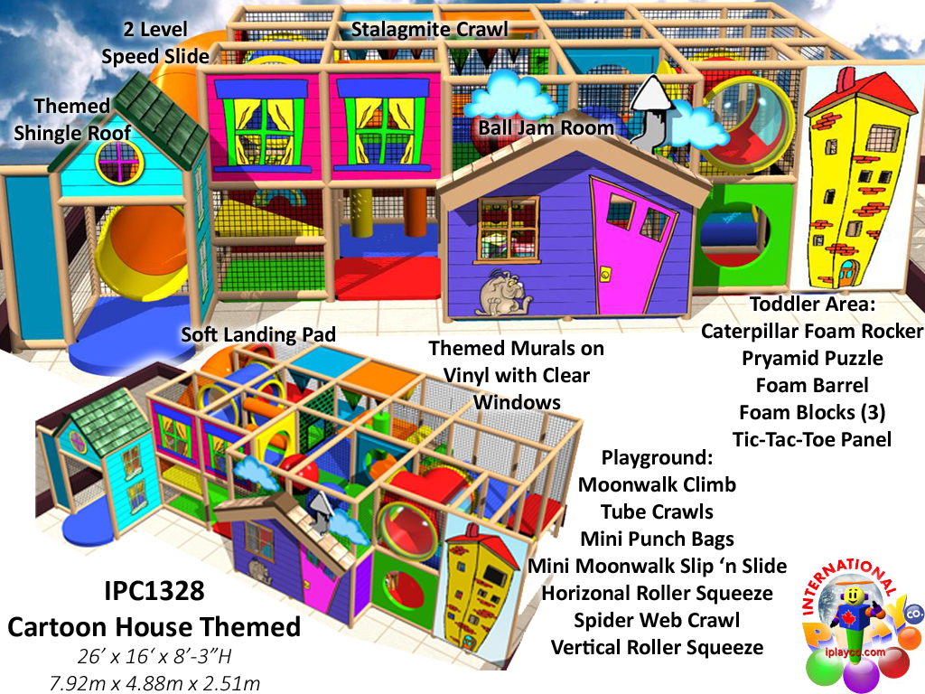 IPC1328, Indoor Playground Equipment, Contained Play Equipment