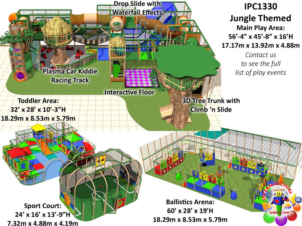or Playground Equipment, Contained Play Equipment
