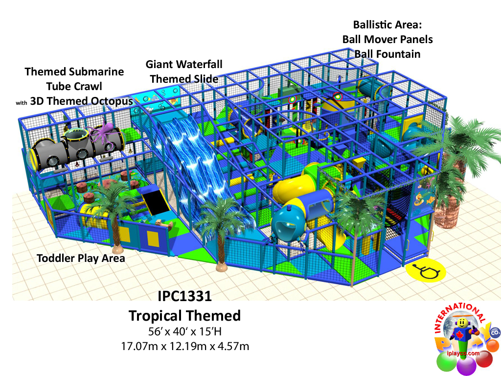 IPC1331, Indoor Playground Equipment, Contained Play Equipment
