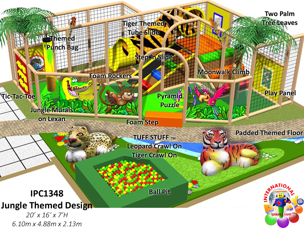 IPC1348, Indoor Playground Equipment, Contained Play Equipment