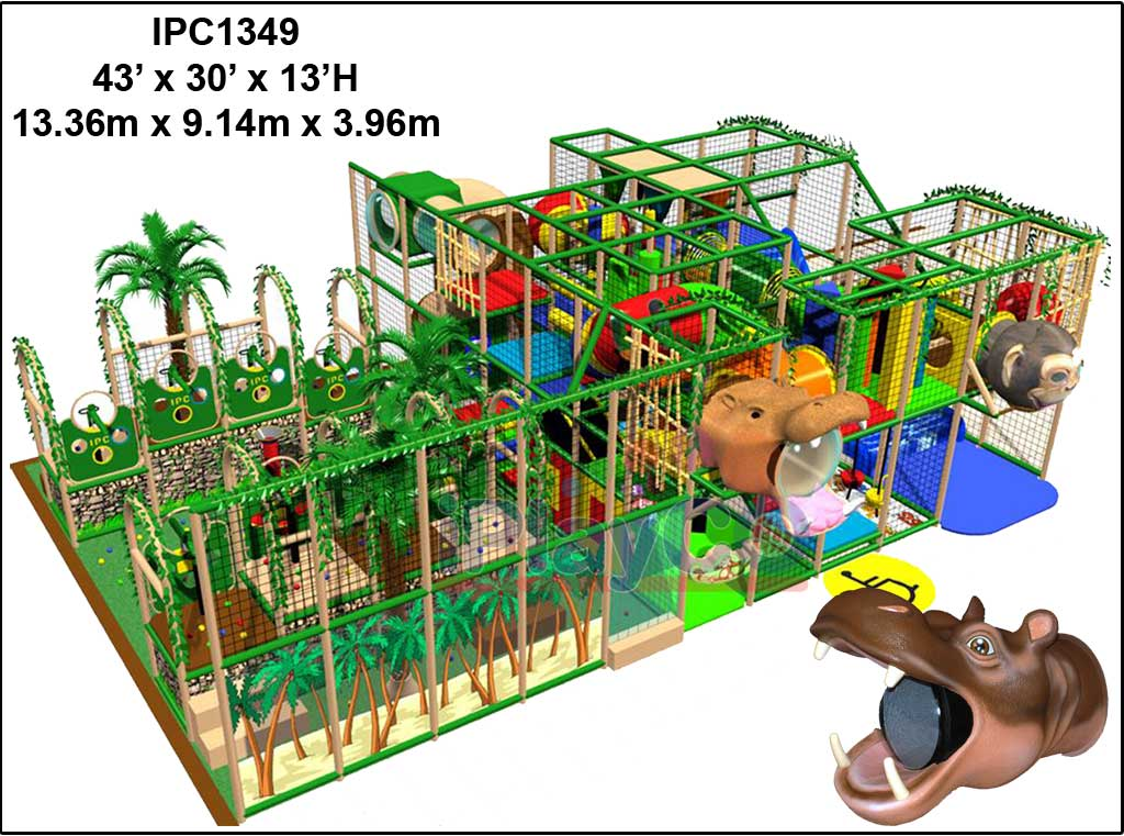 IPC1349, Indoor Play Equipment, FEC, Family Entertainment Center