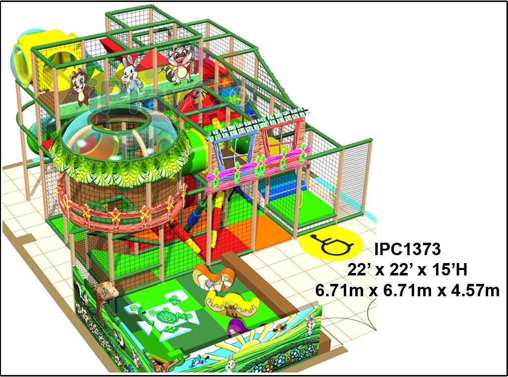 IPC1373, Indoor Play Equipment, FEC, Family Entertainment Center