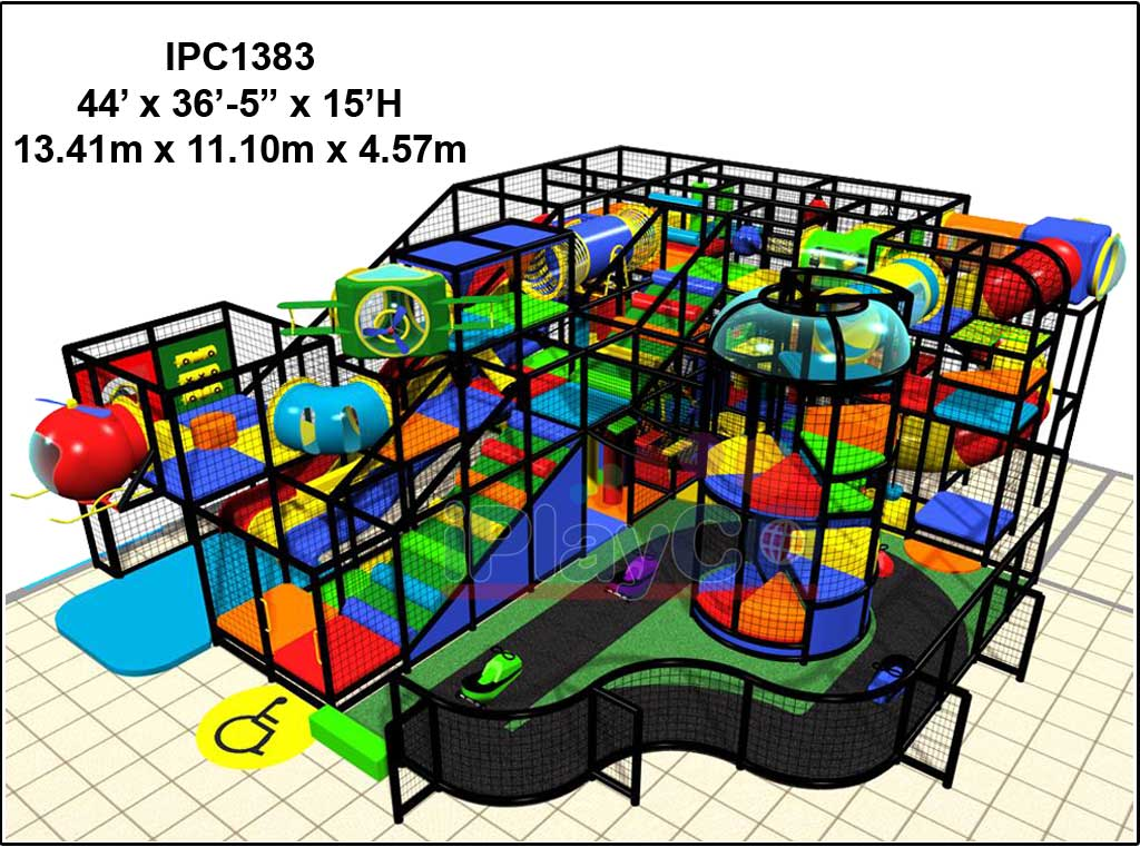 IPC1383, Indoor Play Equipment, FEC, Family Entertainment Center