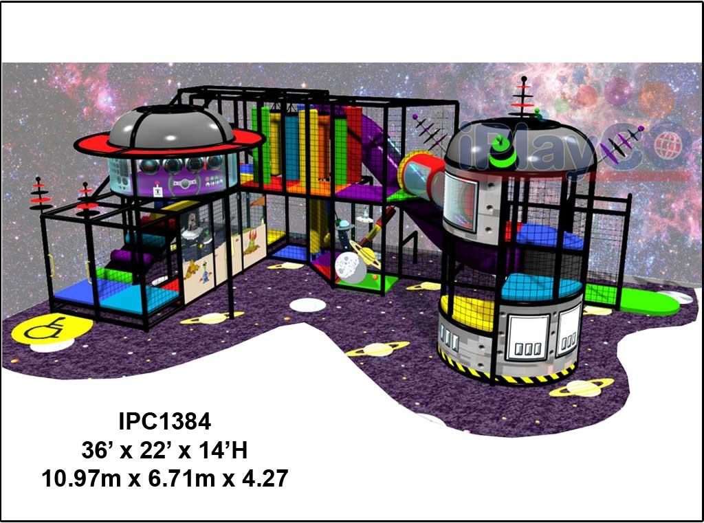 IPC1384, Indoor Play Equipment, FEC, Family Entertainment Center