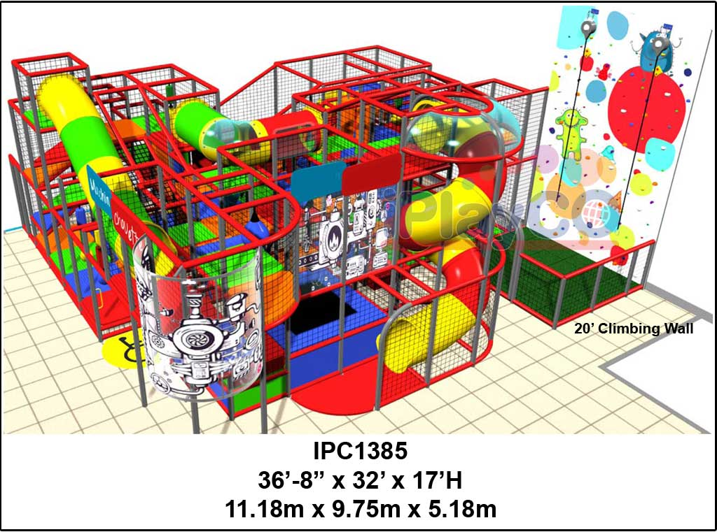 IPC1385, Indoor Play Equipment, FEC, Family Entertainment Center