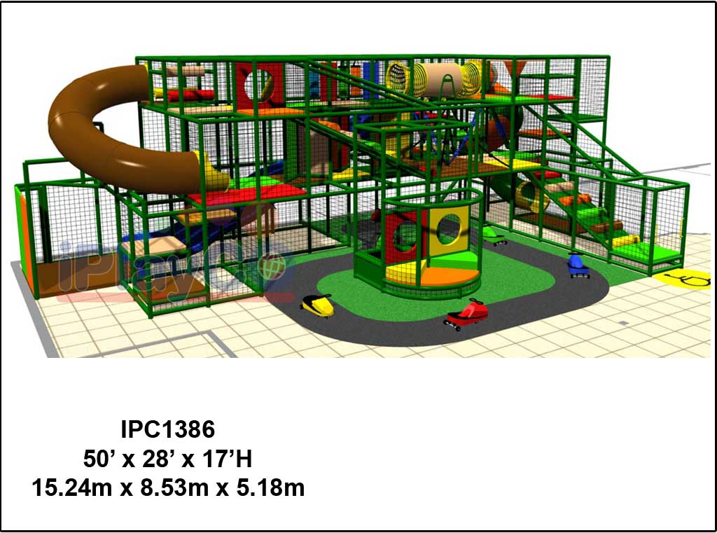 IPC1386, Indoor Play Equipment, FEC, Family Entertainment Center
