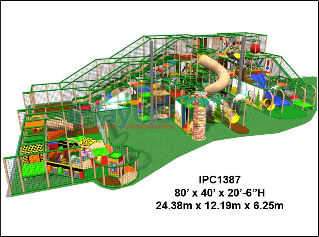 IPC1387, Indoor Play Equipment, FEC, Family Entertainment Center