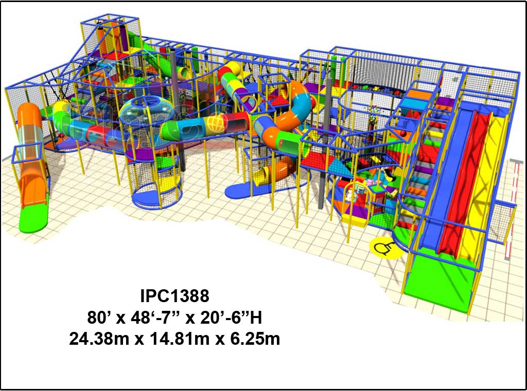 IPC1388, Indoor Play Equipment, FEC, Family Entertainment Center