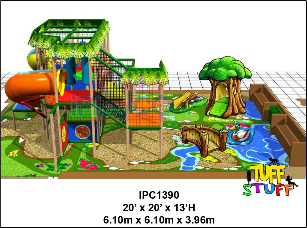 IPC1390, Indoor Play Equipment, FEC, Family Entertainment Center