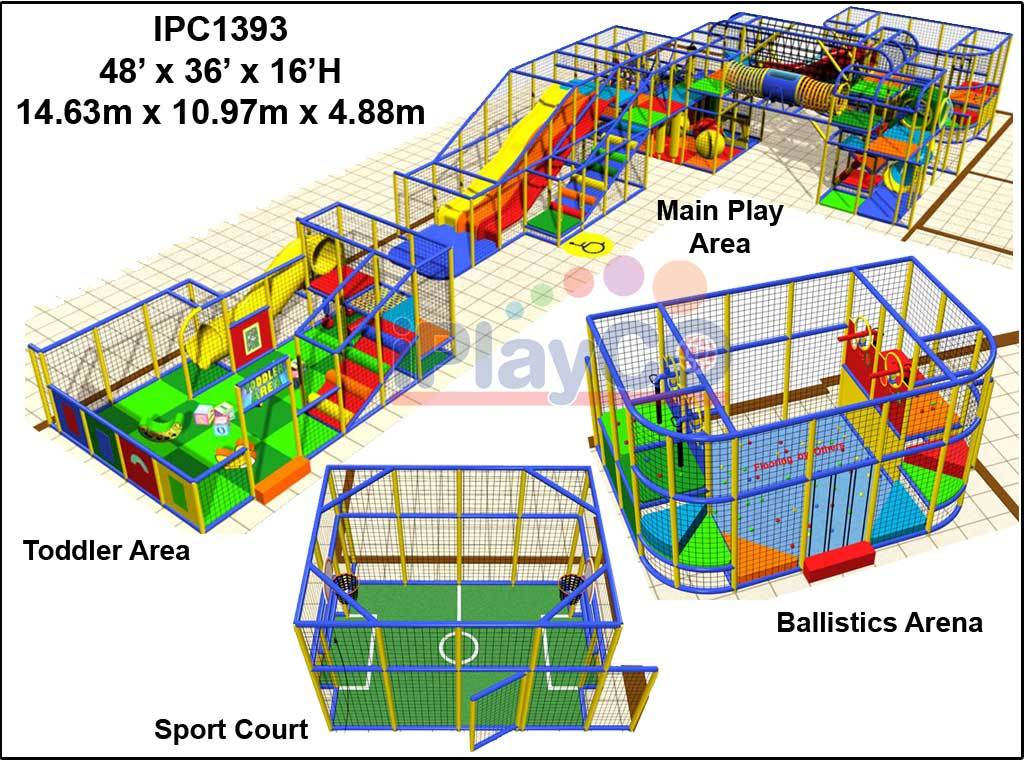 IPC1393, Indoor Play Equipment, FEC, Family Entertainment Center