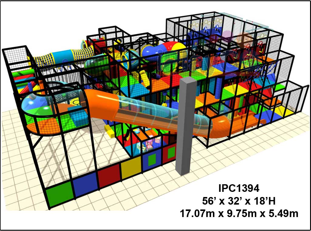 IPC1394, Indoor Play Equipment, FEC, Family Entertainment Center