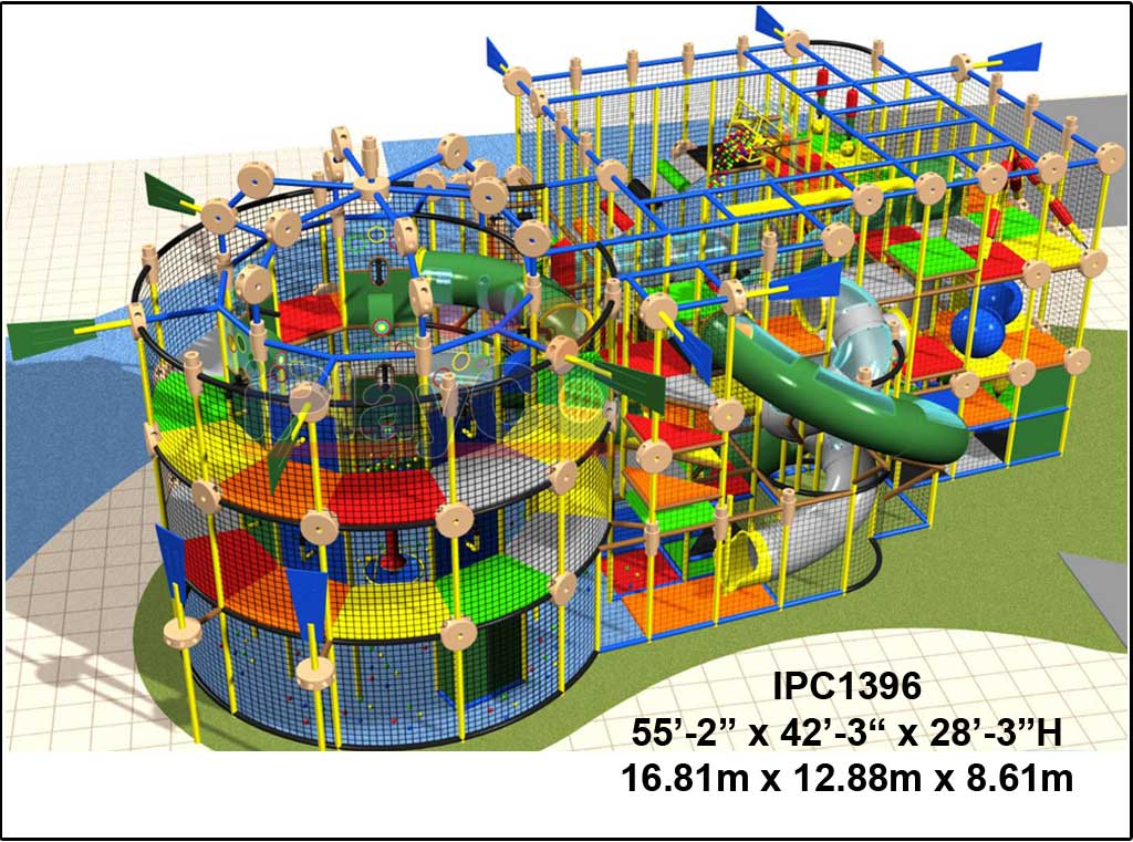 IPC1396, Indoor Play Equipment, FEC, Family Entertainment Center