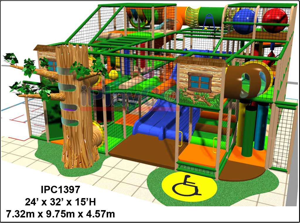 IPC1397, Indoor Play Equipment, FEC, Family Entertainment Center