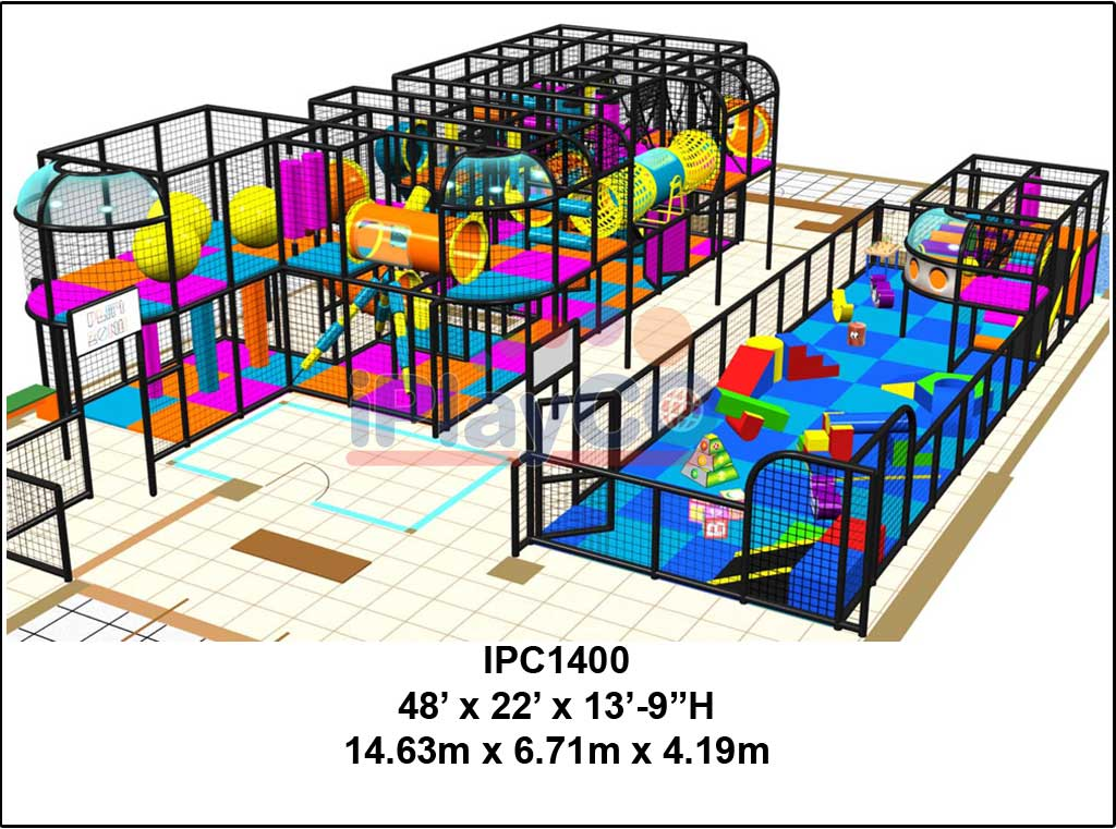IPC1400, Indoor Play Equipment, FEC, Family Entertainment Center