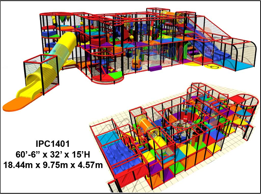 IPC1401, Indoor Play Equipment, FEC, Family Entertainment Center