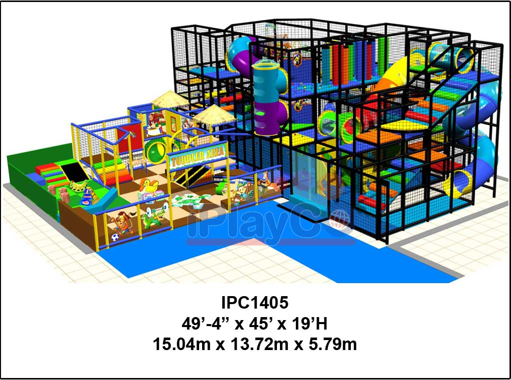 IPC1405, Indoor Play Equipment, FEC, Family Entertainment Center