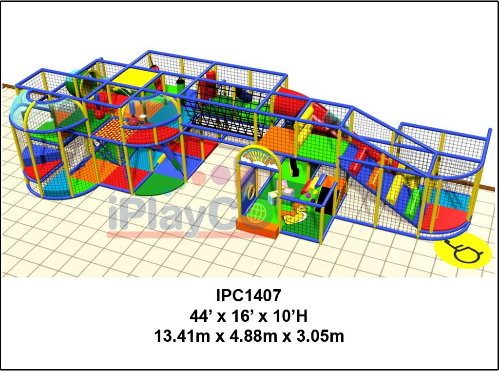 IPC1407, Indoor Play Equipment, FEC, Family Entertainment Center
