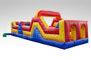 I_1012_30_Ft_Open _Obstacle_Course_B, Inflatables