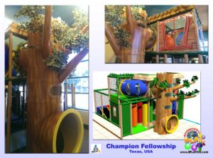 Installs - Indoor Play - Church Ministries - Champion-Fellowship-TX