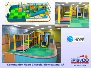 Installs - Indoor Play - Church Ministries - Community-Hope-Church-Montezuma-IA