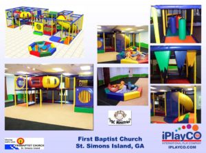 Installs - Indoor Play - Church Ministries - First-Baptist-Church-GA
