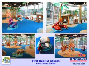 Installs - Indoor Play - Church Ministries - First-Baptist-Church-Kids-Cove---Dallas---Dillon-Works