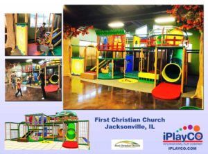 Installs - Indoor Play - Church Ministries - First-Christian-Church-Jacksonville-IL