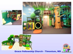 Installs - Indoor Play - Church Ministries - Grace-Fellowship-Timonium-MD