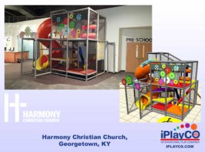 Installs - Indoor Play - Church Ministries - Harmony-Christian-Church-Georgetown-KY