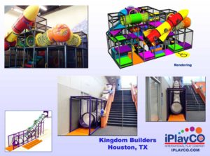 Installs - Indoor Play - Church Ministries - Kingdom-Builders-install